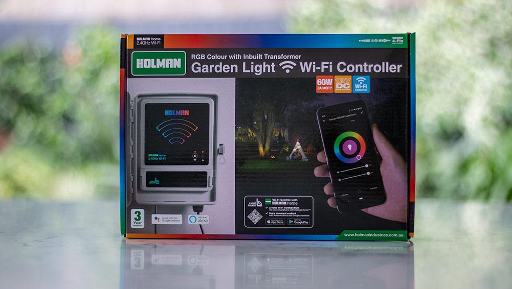 Holman RGB Colour Wi-Fi Garden Light Controller Review